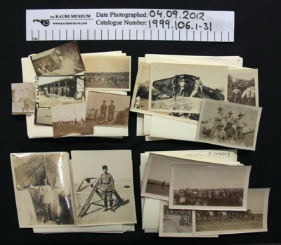 Photograph collection WW1; Frederick Sterling; 1914-1919; 1999_106_1-31