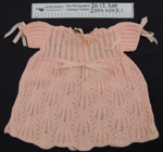 Baby dress and petticoat; Unknown; mid 20th Century; 2004_427_3_1-2