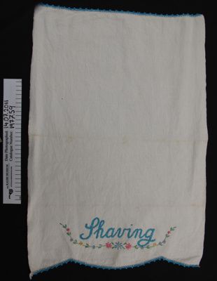 Hand towel; Unknown; Unknown; 1977_59