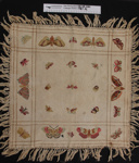 Jacquard tablecloth; Unknown; Unknown; 1987_76