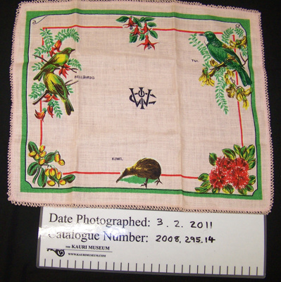 Tray cloth; Unknown; Unknown; 2008_295_14