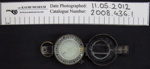 WW2 military compass; HB & SL Barking; 1944; 2008_436_1