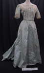 Ball gown c.1900; Unknown; c.1900; 1990_754_1-2