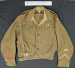 WW2 uniform jacket Royal Sussex; 1939-1945; 2004_67_1
