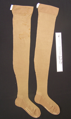 Stockings; S.D.D; 20th century; 2005_14_1
