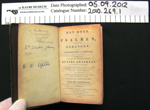 Dutch psalm book; 1882; 2010_269_1