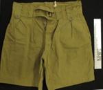 Uniform shorts; Unknown; c.1939-1945; 2009_93_8