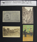 Postcards, WW1; 1914-1918; 2004_660_1-4