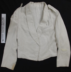 White dress uniform jacket; Unknown; c.1979-1996; 2005_227_9