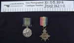 WW1 Medals; 1919; 2002_262_1-2