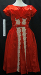 Cocktail dress; Unknown; c.1950's-1960's; 2003_857_1-2