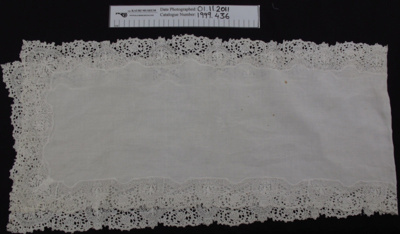 Tray cloth; Unknown; Unknown; 1999_444