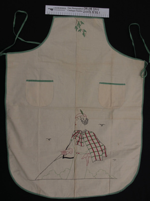 Aprons; Unknown; c.1934; 2003_335_1-2