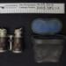 Binoculars in a leather case; c.1914-1918; 2003_385_1-2