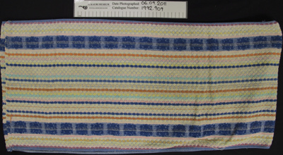 Roller towel; Unknown; c.1970's; 1992_909