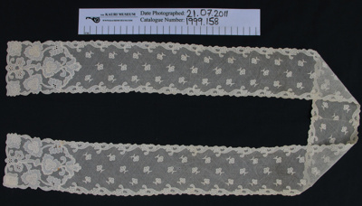 Lace neck tie/scarf; Unknown; Unknown; 1999_158
