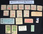 Betting tickets and ephemera, WW2; 1939-1946; 1982_1036_5_1-20
