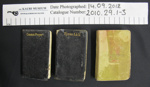 Hymns and Prayer books; 1912; 2010_29_1-3