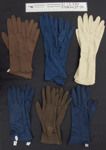 Ladies gloves; Chancellor; mid 20th Century; 2006_44_29-34