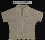 Bed Jacket; Owners sister in law; c.1930-40's; 2004_188