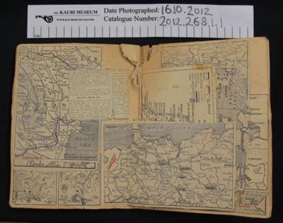 Scrapbook WW2; Ralph Leaf; 1939-1945; 2012_268_1_1