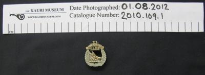 XI NAMR badge; 1914; 2010_109_1