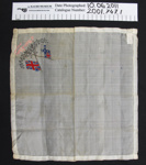 Silk handkerchief souvenirs WW1; Unknown; c.1914-1918; 2001_747_1