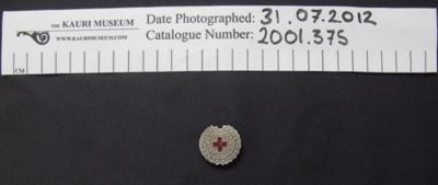 Junior Red Cross Society badge; 2001_375