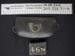 Cartouche bag, Letter badges; Unknown; c.1845-1900; 2010_338_7_1-4