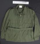 N.Z. Army Shirt, WW2; Unknown; c.1942; 2012_2_6_1