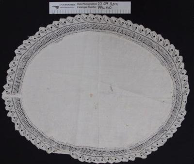 Table centre; Sarah Trounson; c. pre 1900; 1994_140
