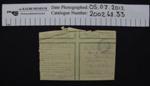 Envelope 1918; 1918; 2002_68_33