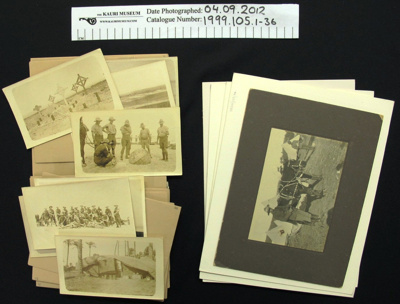 Photograph collection WW1; Frederick Sterling; 1914-1919; 1999_105_1-36