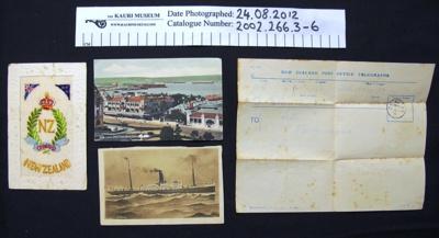 Soldiers correspondence WW1; 1917-1918; 2002_266_3-7