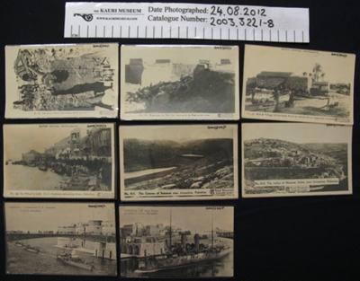 Postcard WW1; British Official Photographs; 1914-1918; 2003_322_1-8