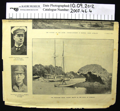 News clipping WW1; Auckland Weekly News; 1917; 2007_46_4