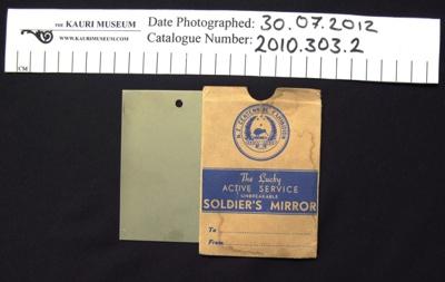 Soldier's Mirror 1940; 1940; 2010_303_1-2