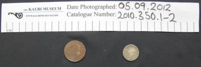 Zuid Afrik Republiek coins; 1892-1898; 2010_350_1
