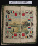 Commemorative cushion cover; Unknown; c.1914-1918; 2004_5