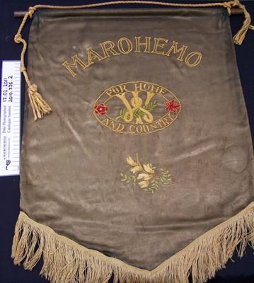 Banner, Marohemo CWI; Unknown; Unknown; 2010_335_2