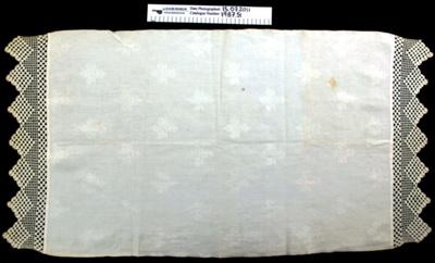 Linen towel; Unknown; Unknown; 1987_51