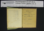 Soldiers Pay book WW2; New Zealand Military Forces; 1939-1945; 2004_113