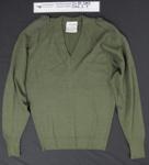N.Z. Army Jumper, WW2; Commercial Textiles Ltd.; c.1942; 2012_2_7