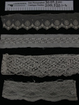 Lace fragments; Unknown; 20th Century; 2001_220_1-4