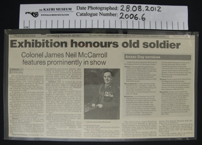 Newspaper clipping, 2005; Betty Nelley; 2005; 2006_6