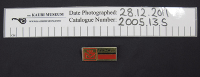 N.Z. Post Office badge mid 20th Century; Unknown; mid 20th Century; 2005_13_5