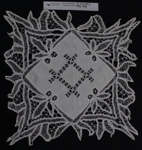 Tray cloth; Unknown; early 20th Century; 1982_1210