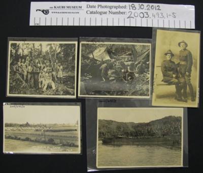 Photographs WW1 and WW2; 1914-1945; 2003_493_1-5