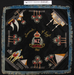 Embroidered souvenirs WW2; Unknown; 1943; 2003_434_1-3