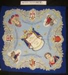 Commemorative scarf; Unknown; 1953; 2010_178_1